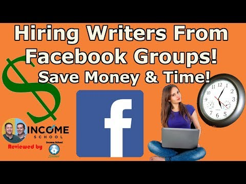 Income School's Project 24- How To Hire Writers Course -My Experience Hiring Writers From Facebook