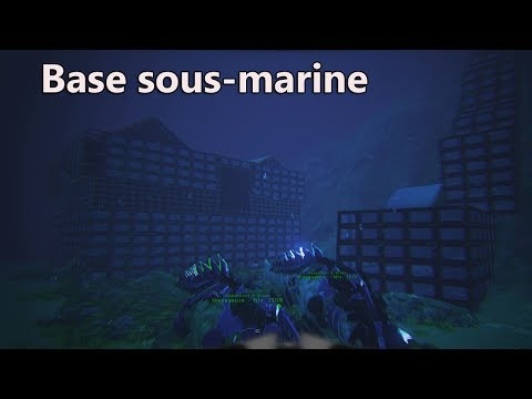 ARK Incroyable Base sous-marine De Draco78