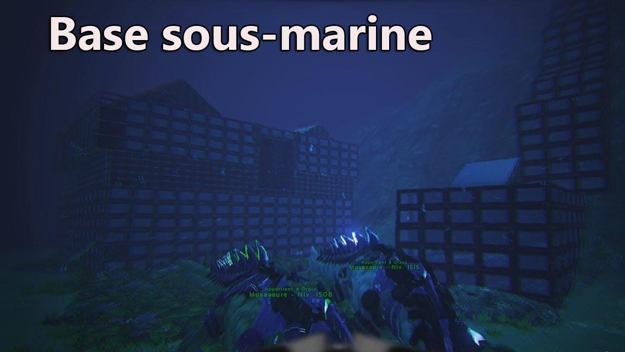 Ark Incroyable Base Sous Marine De Draco78