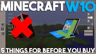 5 Things You Should Think About Before Buying Minecraft Windows 10 Edition