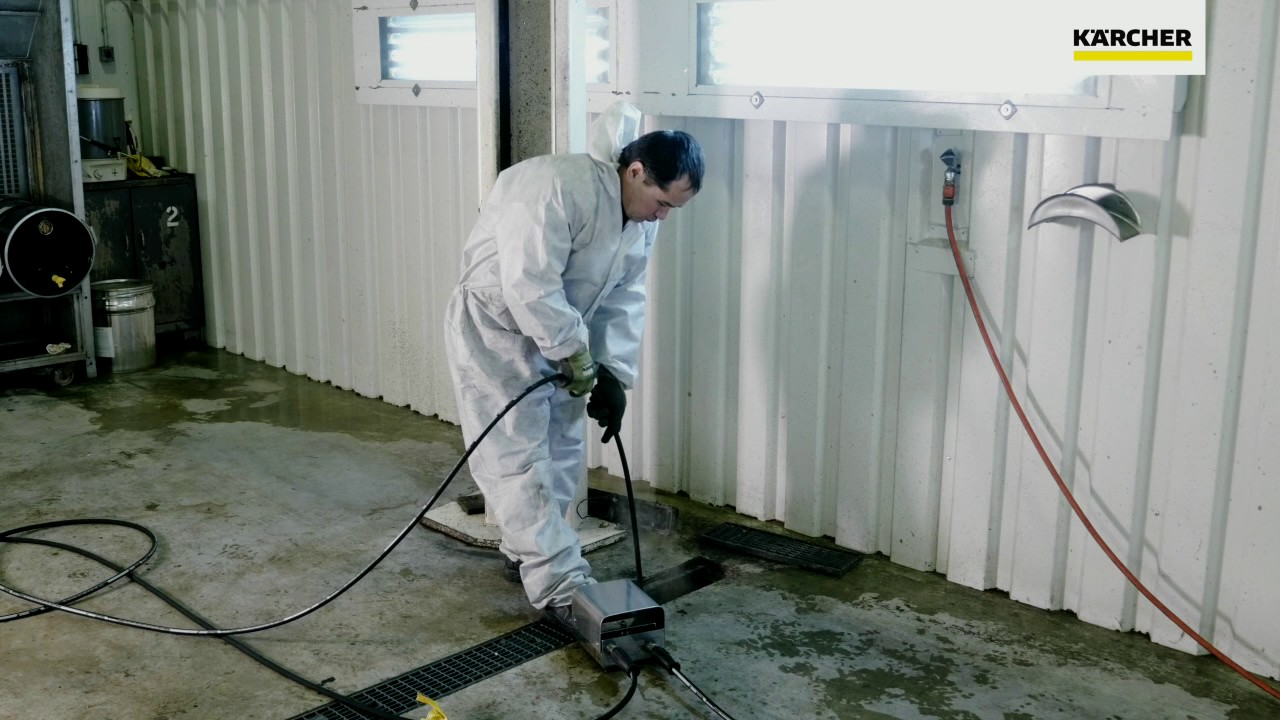 Krcher Pipe Cleaning Hoses - YouTube