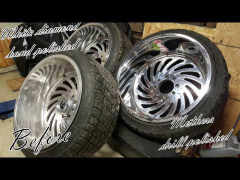 Polishing 24x14 Fuel Forged Wheels FF28