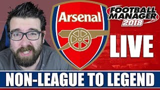 Transfer window live! | non-league to legend fm18 | arsenal | football manager 2018