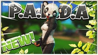 FORTNITE *NEW* PANDA TEAM LEADER SKIN Gameplay