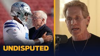 Not franchise tagging Dak would've been too risky for Jerry Jones — Skip Bayless | NFL | UNDISPUTED