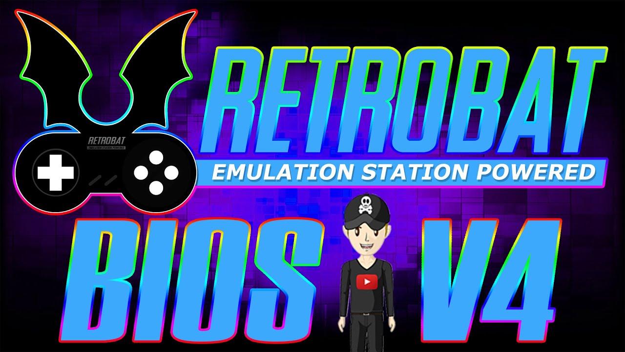 PACK FULL BIOS RETROBAT V4 Only for PC64 EMULATION Wii, WiiU, XBOX, XBOX360, DREAMCAST, PSP, N64