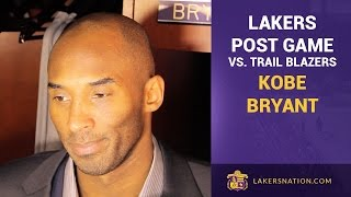 Kobe Bryant On The Progression And Challenges With D