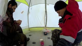 зимняя рыбалка за плотвой 26 января 2021 год