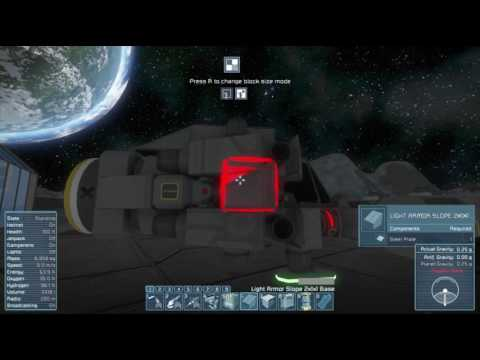 Space Engineers S0E9 - A Mediocre Drill Ship