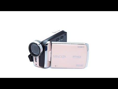 Thumbnail: Minolta 1080p Full HD Digital Camcorder w/Carrying Case