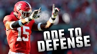 Ode To Defense (Iron Bowl 2016)