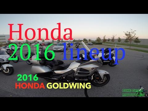 2016 Honda Motorcycle lineup Test ride