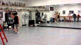 You Were Meant For Me (Rehearsal) - Choreo by Jason Warley