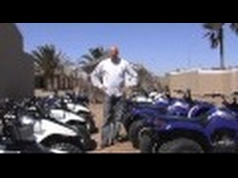 Walvis Bay, Namibia, Quad Riding - Journey with Jamie Logan