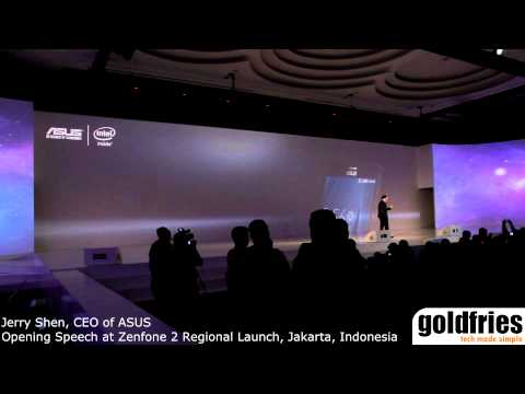 Opening Speech at Zenfone 2 Regional Launch, Jakarta, Indonesia