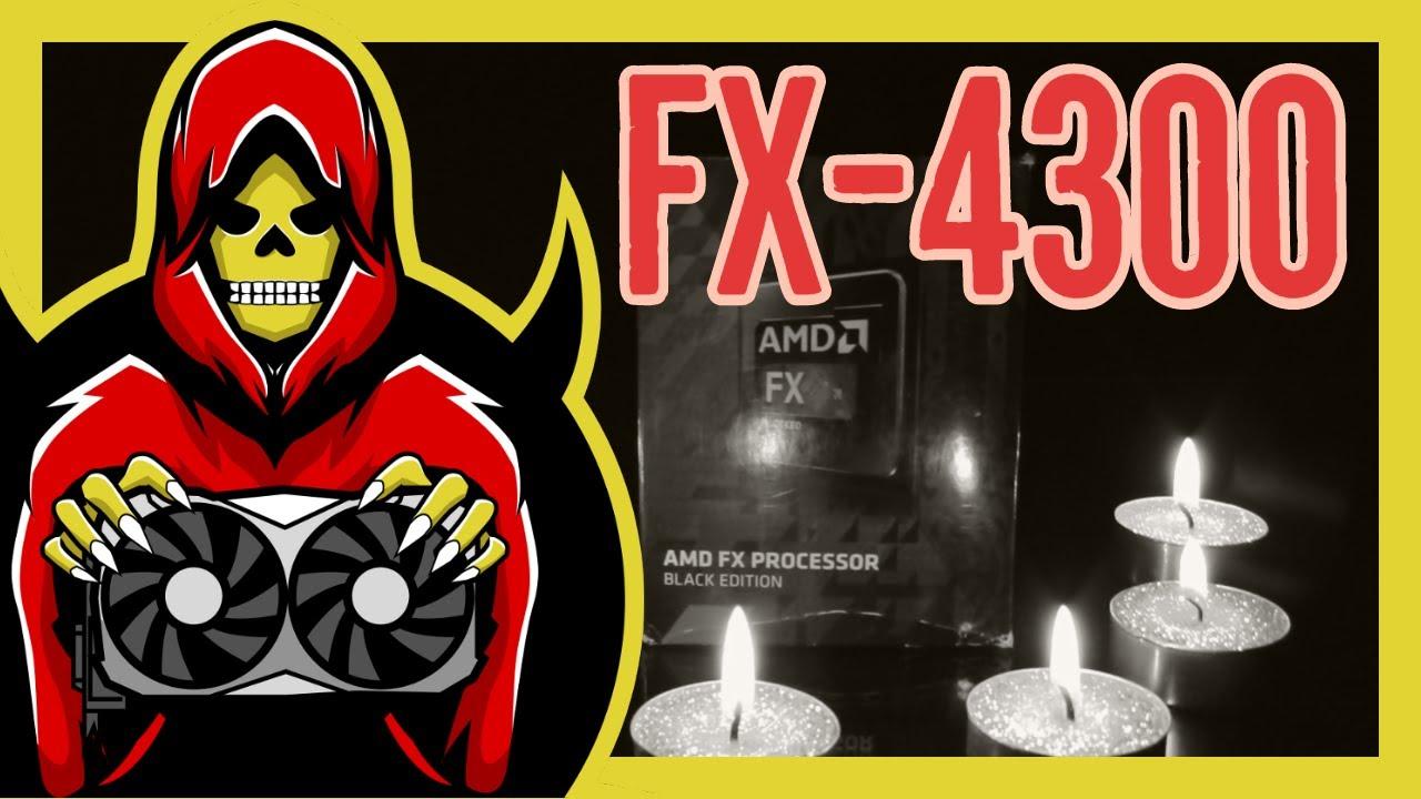 Amd Fx 4300 Oc D Test In 8 Games 2019 Youtube