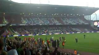 West Ham - Millwall 25.08.09. Forever Blowing Bubbles