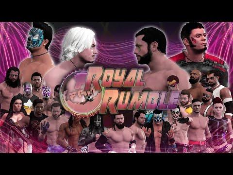 WWE 2K17 - FaM Royal Rumble