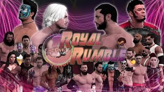 WWE 2K17 - FaM Royal Rumble