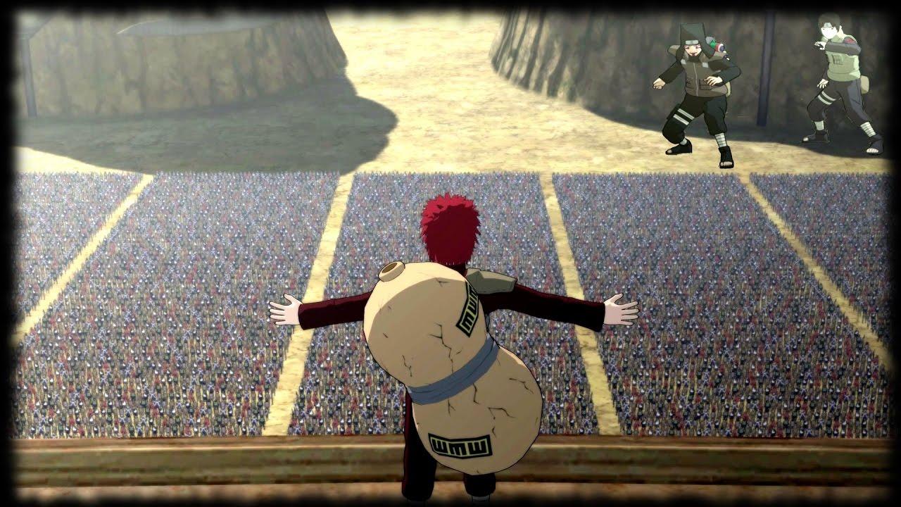 Gaara's Speech at Fourth Great Ninja War - Naruto Shippuden Ultimate Ninja  Storm 3 Game