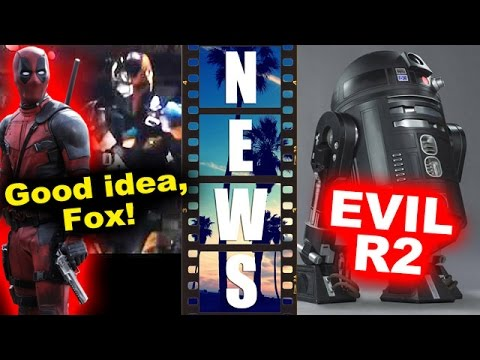 Deadpool vs Deathstroke Justice League 2017, Evil R2-D2 aka C2-B5 in Rogue One