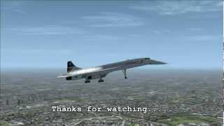 FS2004 - Concorde Flight from New York to London