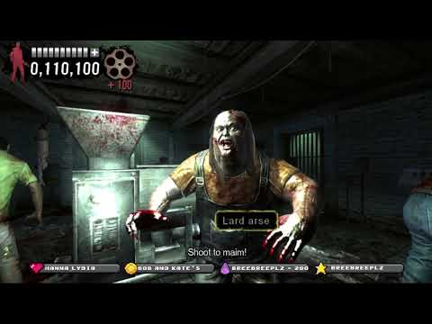 Typing of the Dead: OverKill 1st ever play. |