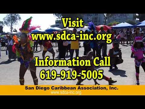San Diego Caribbean Association Carnival 2018 Commercial