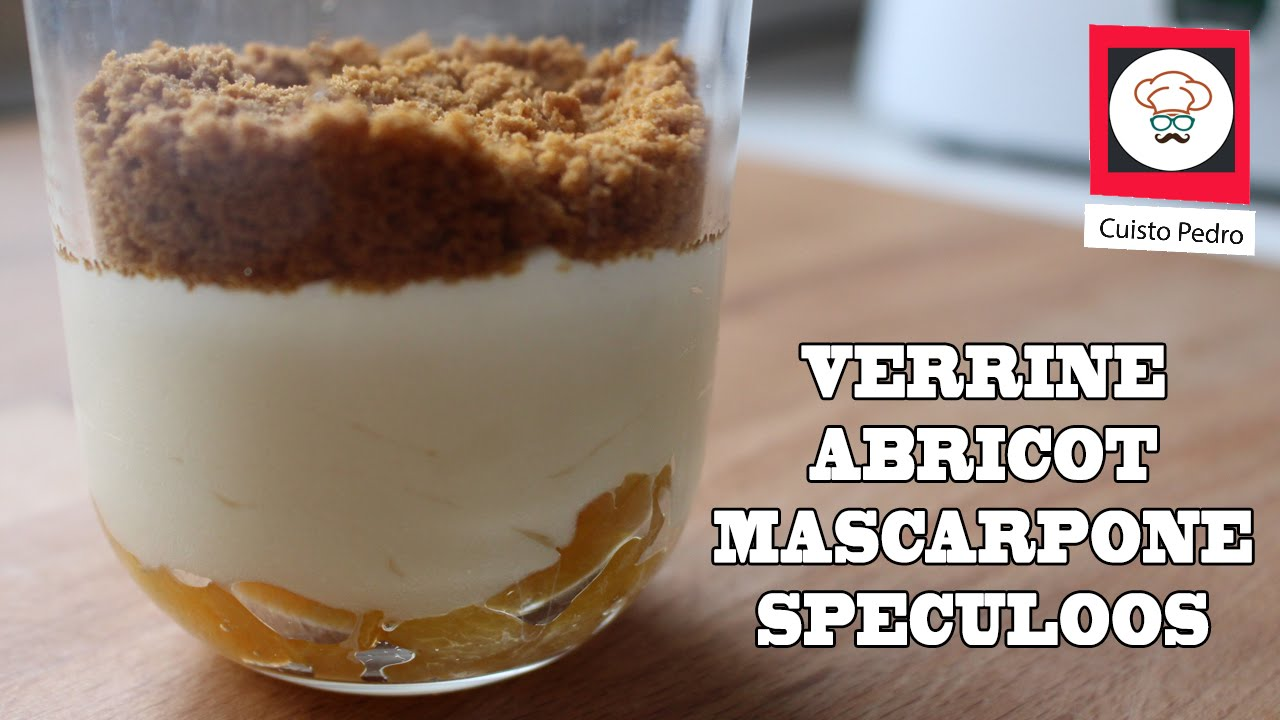 verrine speculoos abricot mousse mascarpone thermomix tm5 youtube. Black Bedroom Furniture Sets. Home Design Ideas