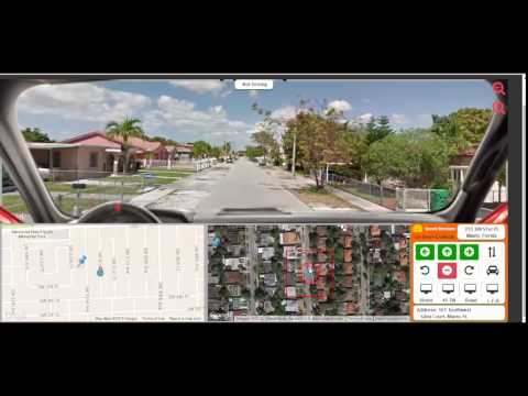 Atstreets Drive A Virtual Car Using Google Street View Youtube