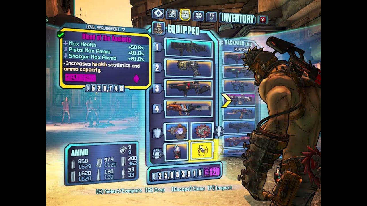 Borderlands 2 level 72 krieg shotgun hellborn build