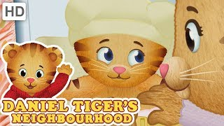 Daniel Tiger 🍼 Living with a Baby Sister | Videos for Kids
