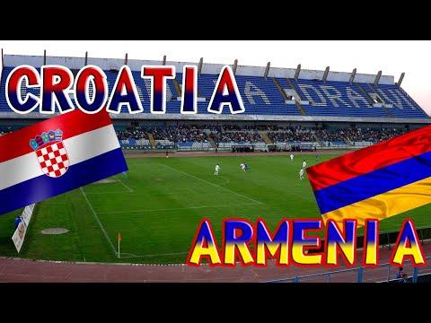 Хорватия - Армения / Товарищеский матч 2021
