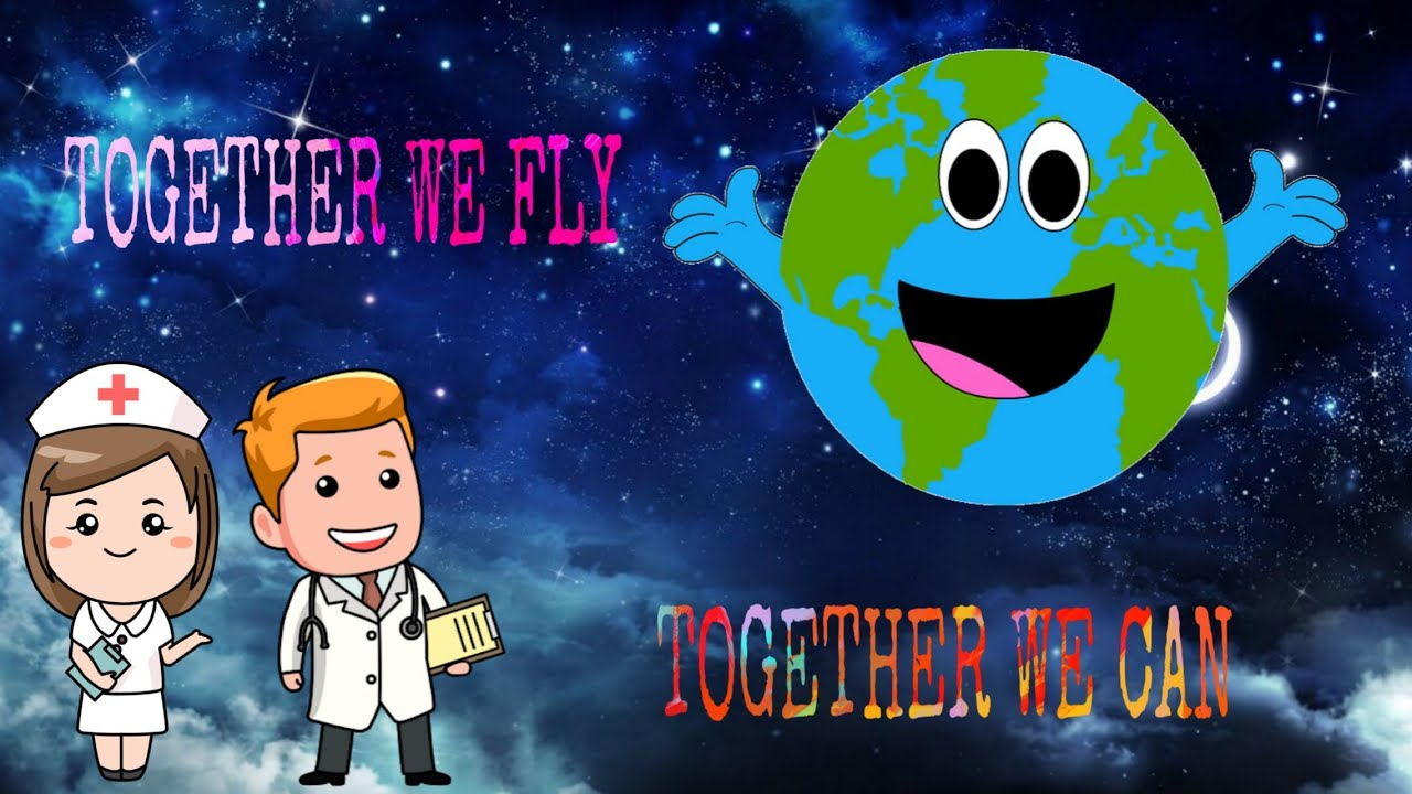 TOGETHER WE FLY, TOGETHER WE CAN | LET'S FIGHT COVID19❤️