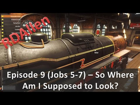 Train Mechanic Simulator 2017 (Jobs 5-7) - So Where Am I Supposed to Look?
