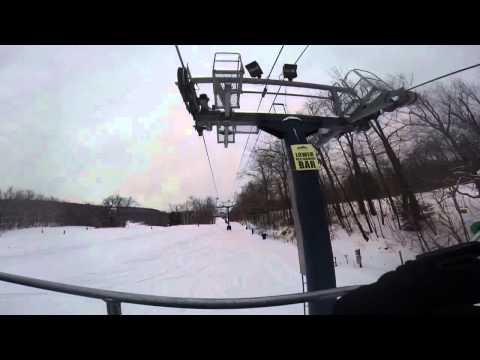 Ski and Snowboard at Mount Wachusett | GoPro Hero 3 + Black