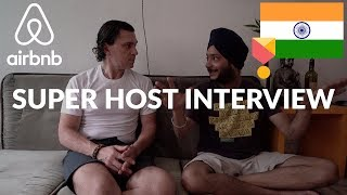 Gambar cover Interview with Airbnb Superhost from New Delhi, India!