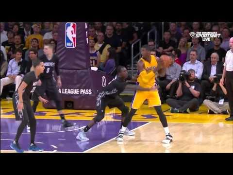 Roy Hibbert Lakers Highlights
