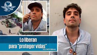 """Detienen y sueltan a Ovidio Guzmán, hijo de """"El Chapo"""""""