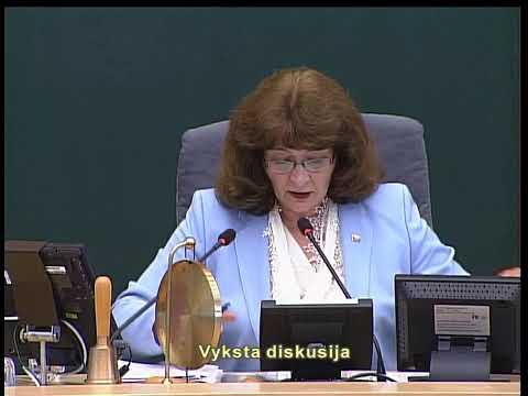 2019-08-20 Seimo vakarinis neeilinis  posėdis