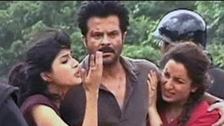 On the sets of Anil Kapoor's 24