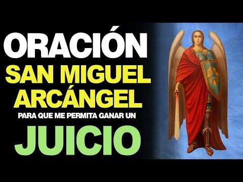 🙏 Oración a San Miguel Arcángel PARA GANAR UN JUICIO PENAL 👨⚖