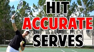 How to Hit Accurate Tennis Serves | Progression Program