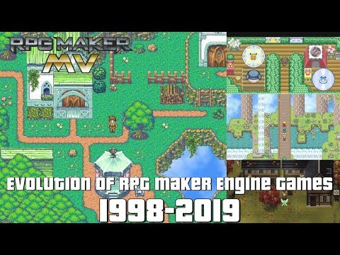 Evolution Of RPG Maker Engine Games 1998-2019
