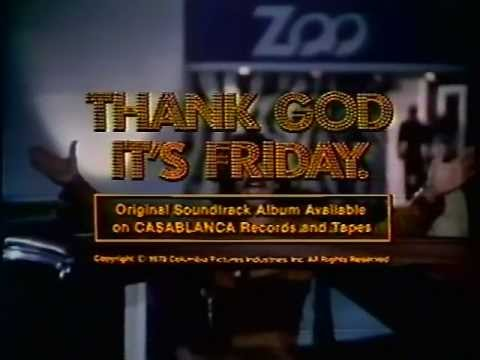 Thank God Its Friday 1978 Tv Trailer Youtube