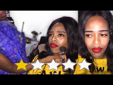 I WENT TO THE WORST REVIEWED MAKEUP ARTIST IN MY CITY  | Tebello Rapabi