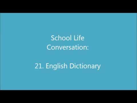 school Life 21: English Dictionary