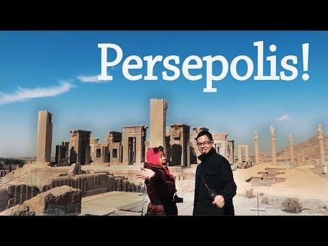 IRAN VLOG #12: PERSEPOLIS AND NECROPOLIS! Taxt e Jamšid & Naqsh-e Rustam