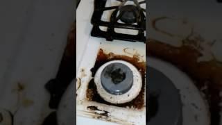 Como limpiar la estufa con productos caseros