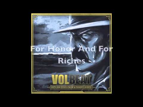 Volbeat - Black Bart (HD With Lyrics)